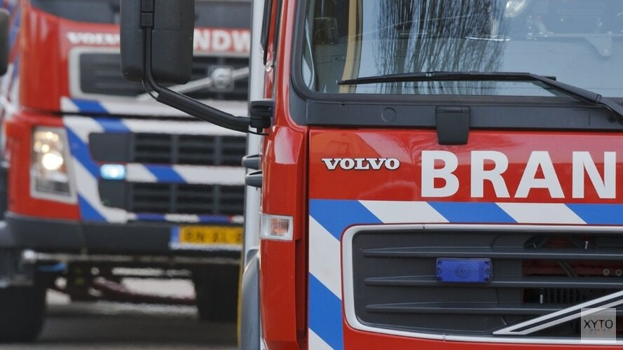 Grote uitslaande woningbrand in Uitgeest