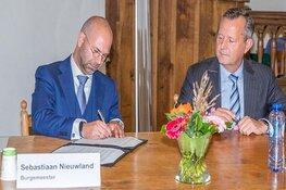 Uitgeest verwelkomt burgemeester Nieuwland