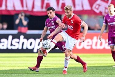 AZ kweekt zelfvertrouwen tegen Go Ahead Eagles